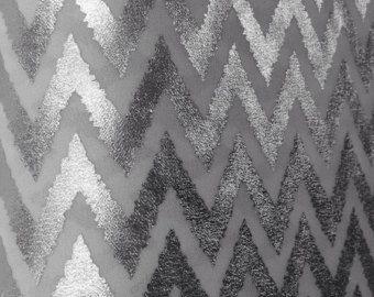 Check out Silver Chevron fabric by the yard, Bridesmaid Fabric, Silver Grey Fabric, Wedding Decor Backsplash Fabric, Chiffon fabric Barnyard Decor on blingscarves
