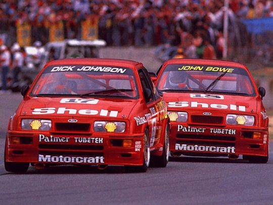 Ford Sierra RS500 Cosworth race cars
