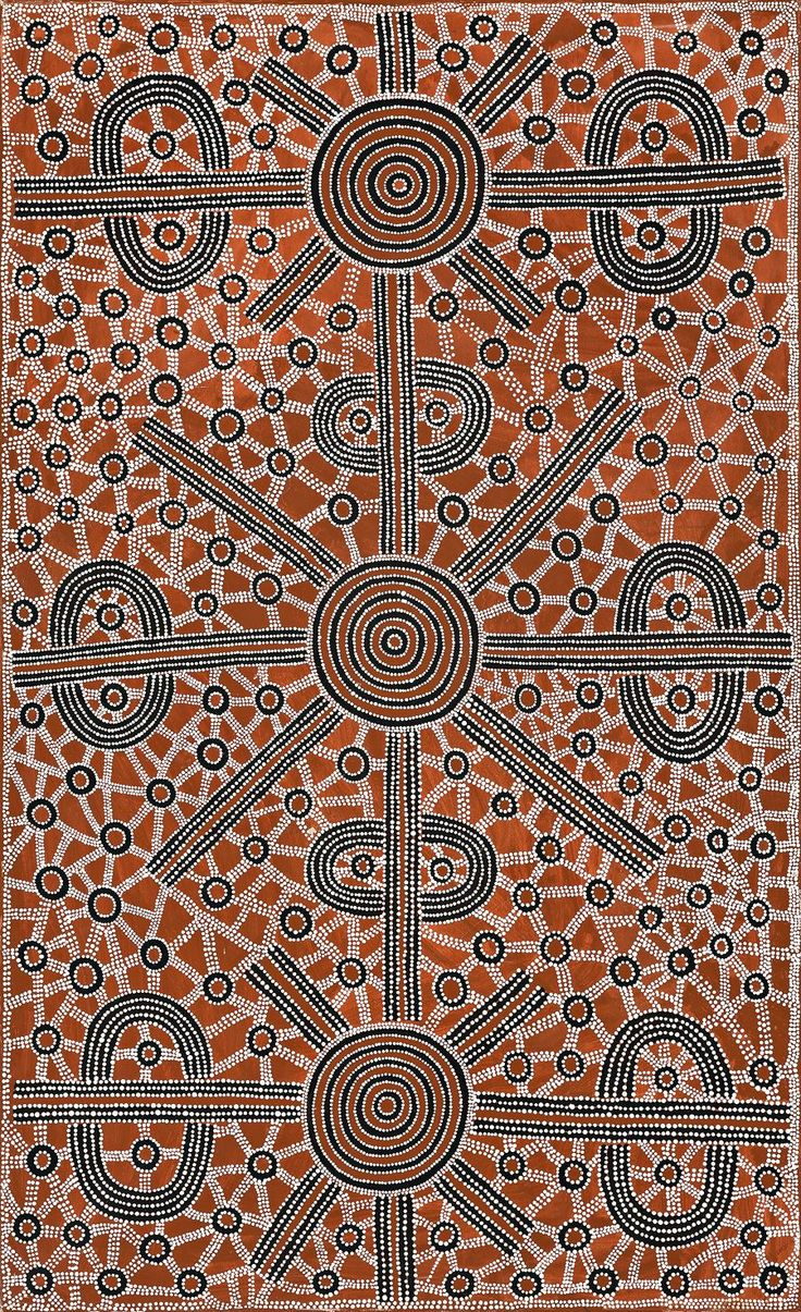 Dave Ross Pwerle - Dave Ross Pwerle - 150 x 90 cm http://www.aboriginalsignature.com/art-aborigene-utopia/dave-ross-pwerle-dave-ross-pwerle-150-x-90-cm