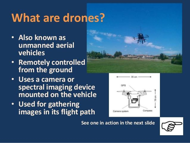 What Are Drones Unmanned Air Crafts That Can Be Controlled From