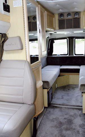 chevrolet 3500 Minivan Camper rear Seats