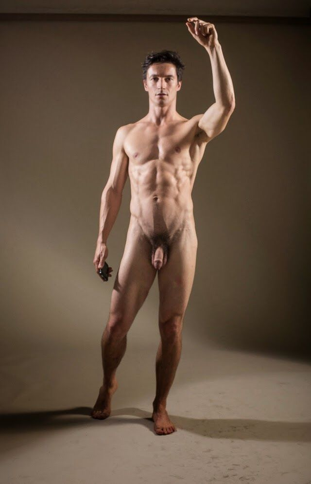 men as art Naked