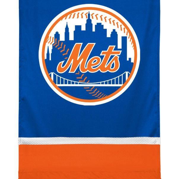 MLB New York Mets Team Logo Jersey Baseball Wall Hanging