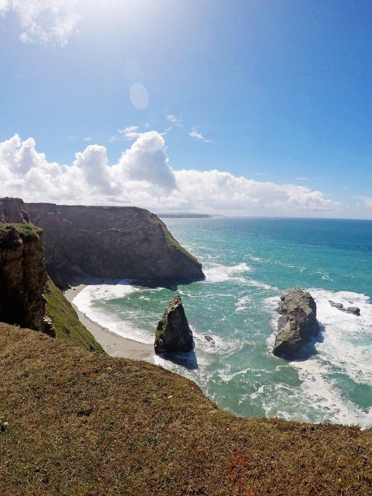 Hiking from Portreath to Godrevy (South West Coast Path)