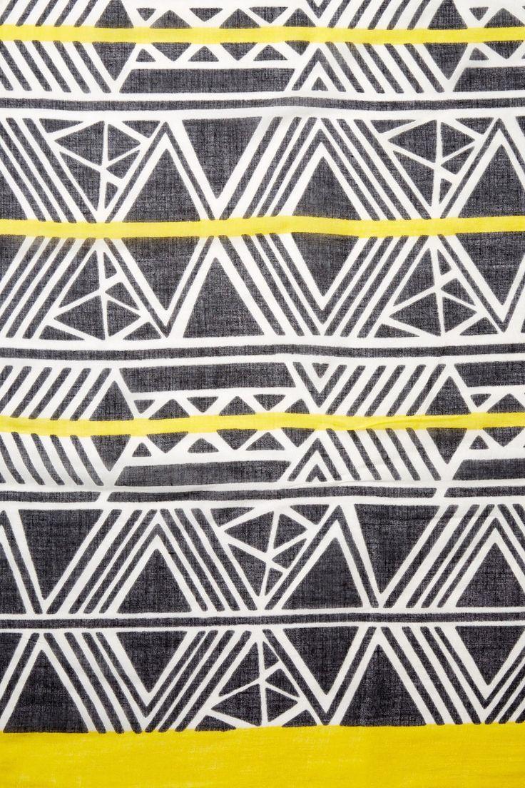 Urban Originals Urban Originals Aztec Print Scarf | Nordstrom Rack