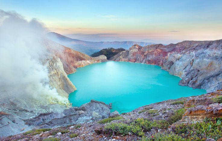 Kawah Ijen, Indonésie