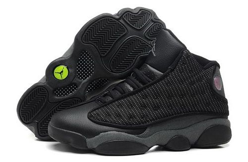 Nike Air Jordan Xiii 13 Retro Mens Shoes All Black Special For Sale