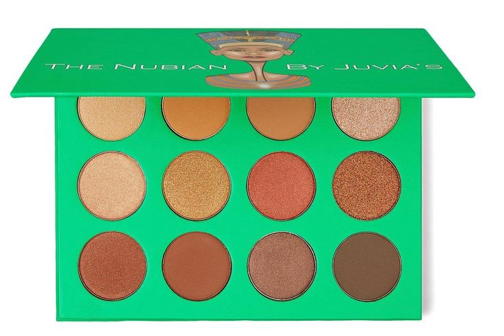 Nubian Eyeshadow palette || Juvias Place  What else could you need??? Perfect palette for travel.