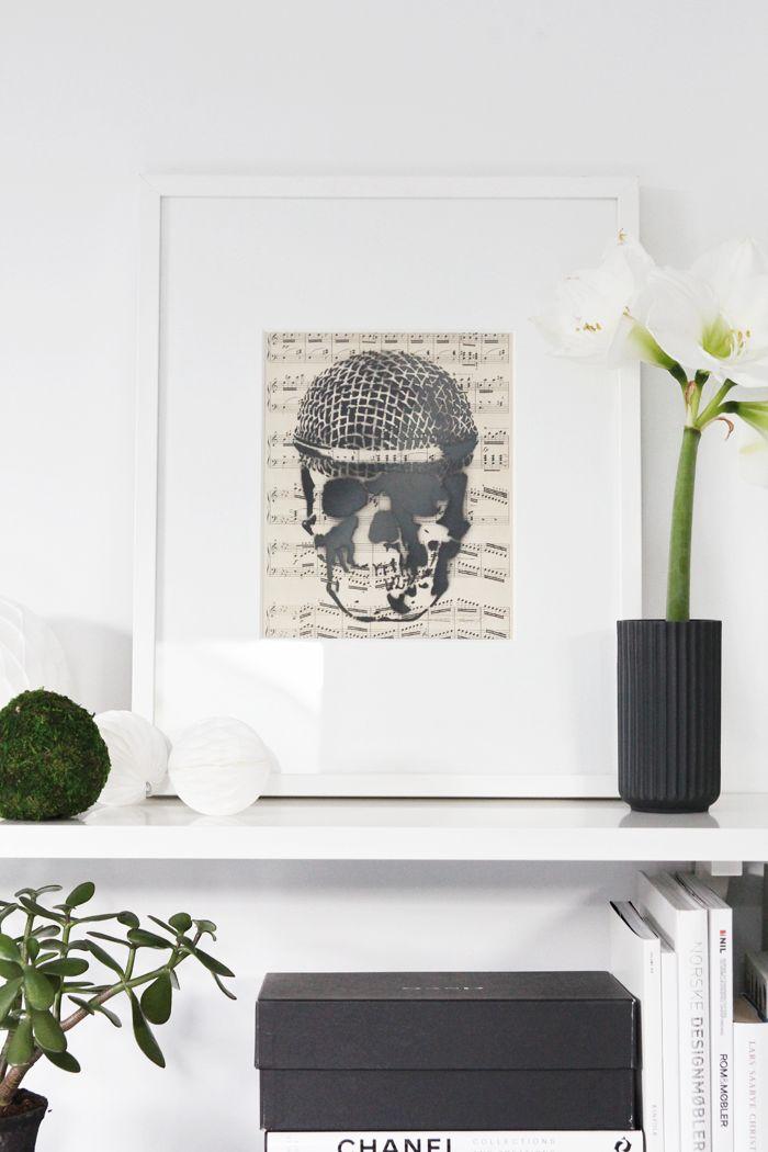 Skull Art Piece By John Andrè Hanøy