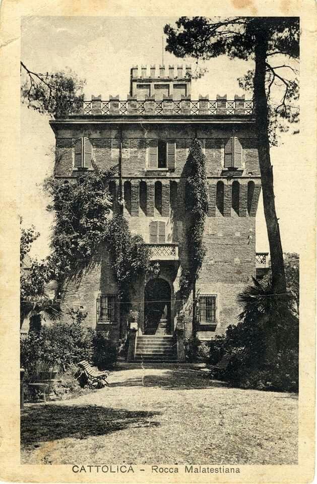 La Rocca Malatestiana di Cattolica( via Pascoli,Centro Storico)