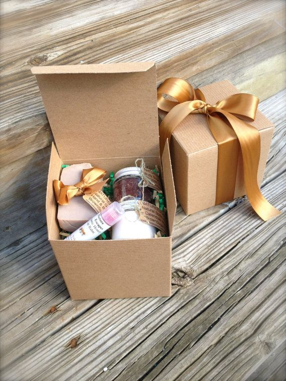 Gift for Nanny Spa Gift Set BrownSugar Fig Bath by NatureEscapes