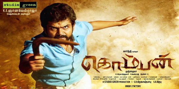 Komban A local vigilante's family relationships are challenged when he confronts a terrifying villain.  Director: M. Muthaiah  Music composed by: G. V. Prakash Kumar Cinematography: Velraj  Editor: Praveen K. L. listen songs online  http://targetmusic.in/new_release/komban
