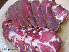 Вяленая свиная шея - настоящий мужской деликатес