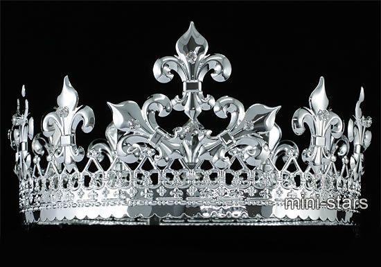 King Crowns for Men   ... Black Tone Light-Reflective Shine Stainless Steel Spin Mens Ring MR089