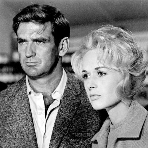 Remembering Rod Taylor on his birthday, here with Tippi Hedren in THE BIRDS ('63)