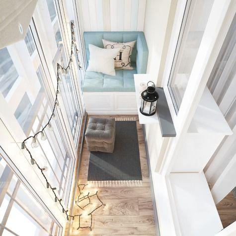 Проект: Балкон, PROJECT №224 — Design Studio Mango дизайн интерьеров — MyHome.ru