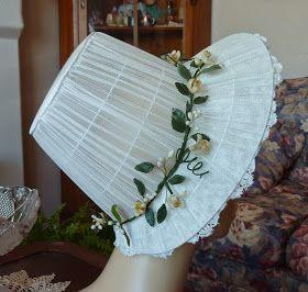Beauty From Ashes: Elizabeth Bennet's Wedding Trousseau: Bonnet Compete