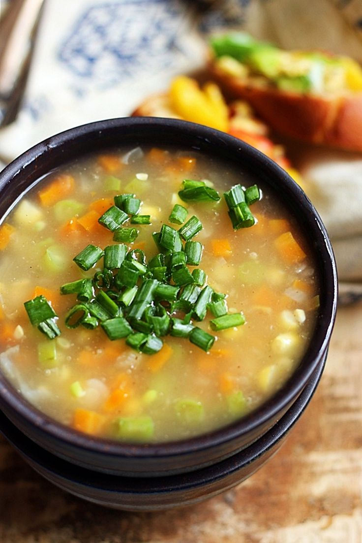 sweet corn clear soup recipe c