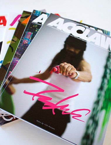 ONE YEAR SUBSCRIPTION - AUSTRALIA/NZ $20 dollars will get you three issues of ACCLAIM magazine, so a year's worth of your favourite mag delivered hot-off-the-press, straight to your door. That's a saving of $10 off the standard shelf price for three issues and you don't …