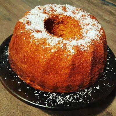 HandsoffmyFOOD!: SKINNY SINNER: Amazing Amasake! Japanse Kokosnoot-cake! #Newingrediënt #experimenteereroplos