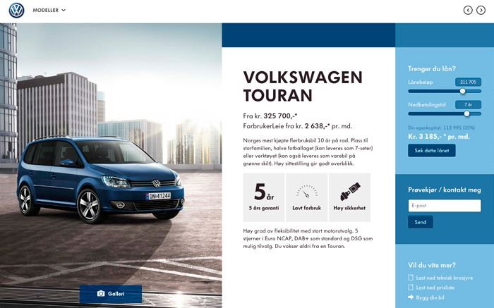 http://taktisk.volkswagen.no/ Volkswagen Showroom  By TRY/Apt tryapt.no