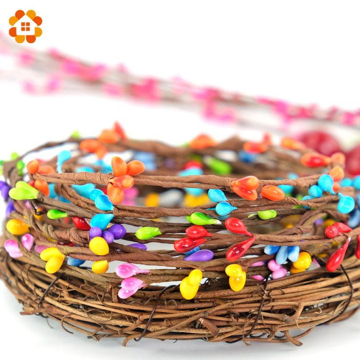 Find More Decorative Flowers & Wreaths Information about NEW arrival 40cm 9colors(10pcs/lot) artificial Beads Branches flower stamen for home wedding party car decoration crafts flowers,High Quality beaded ball gown wedding dresses,China bead glass Suppliers, Cheap flower beads glass from DIY House Factory Direct Online Store on Aliexpress.com