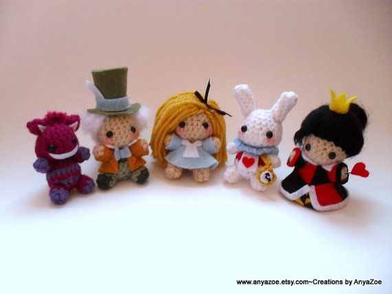 Amigurumi Disney Characters : Images about alice and steampunk on pinterest mad