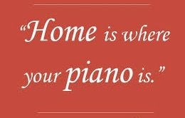 A piano makes a house a home. It's a grand life! #ILovepiano tomfaucherpiano.com @tomfaucherpiano