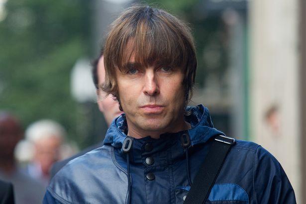 Liam Gallagher.