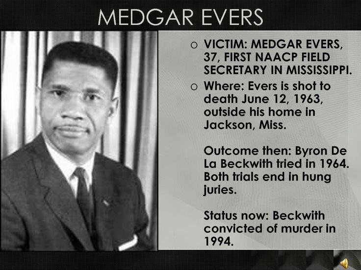 Medgar Evers Assassination | Civil Rights Murder Cases ...