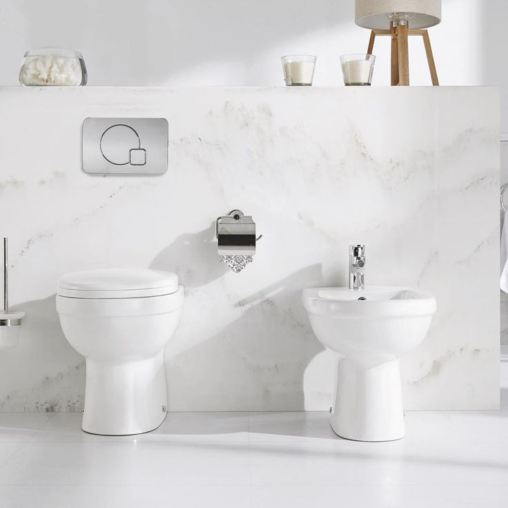 Pura Ivo Series. With a distinctive yet classic lines that would suit traditional or contemporary bathroom designs, the popular Ivo Series of sanitaryware includes washbowls and basins, WCs and bidets. With a modern living in mind, Ivo's space-saving features make it a versatile choice for compact spaces and full sized bathroom or shower-rooms alike.  #bathroom #tap #interior #design #interiordesign #architecture #beautiful #pura #WC #toilet