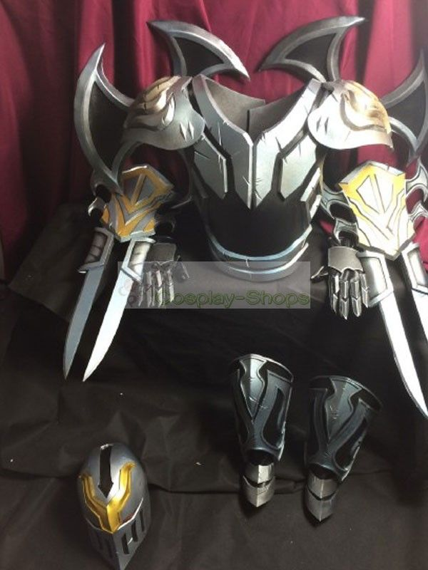 Custom Cheap League of Legends LOL Zed Full Armour Cosplay In League of Legends LOL Zed For Sale Online- Cosplay-Shops.com