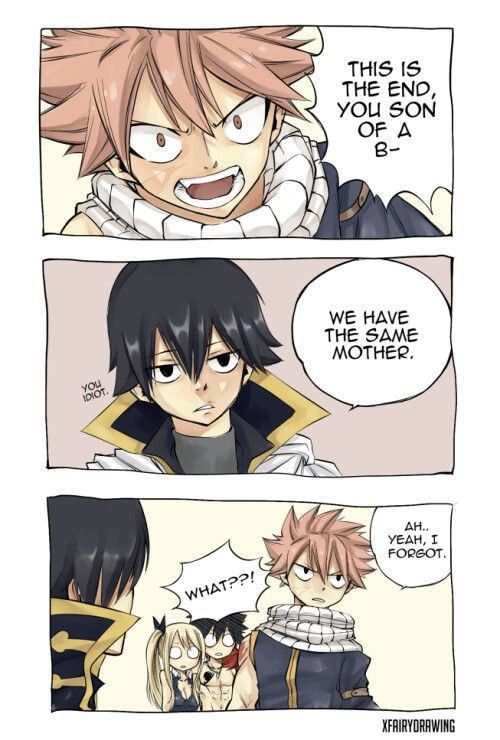 Anime Characters React Fanfiction : Zeref natsu fariy tail pinterest sons this is me