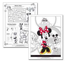Disney Movie Rewards: FREE Minnie Mouse Valentine Activity Sheets