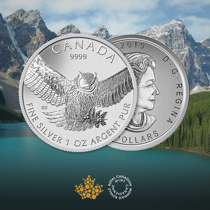 THE GREAT HORNED OWL - A SYMBOL OF POWER & AGILITY. ABC Bullion is pleased to offer Canada's most common bird of prey, the great horned owl. It plays an important role in maintaining the Canadian natural ecosystem. A careful, natural balance between predator and prey. Its unique features are beautifully showcased on this one ounce minted silver coin. Purchase your piece of Canadian wildlife.