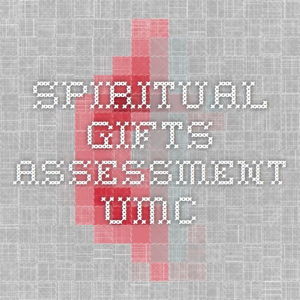 Spiritual Gifts Assessment UMC