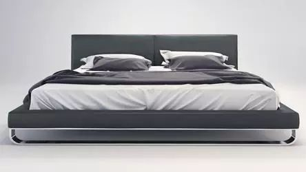 Lucca Bed - Slate