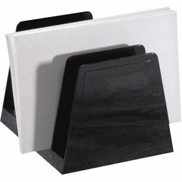 Picture of A simple and inexpensive file sorter or desktop organizer solves your problem