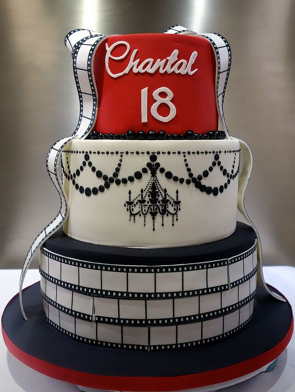 "old hollywood cake | | By: Little ""Miss"" OC's Kitchen 