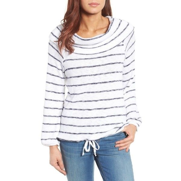 Petite Women's Caslon Convertible Off The Shoulder Pullover (515 SEK) ❤ liked on Polyvore featuring tops, petite, petite tops, textured top, slouchy pullover, pullover top and off the shoulder tops