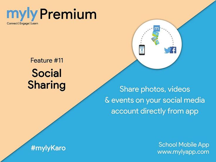 Stay connected to your social media accounts.  With #mylyPremium, share photos, videos & events on your social media accounts directly from mylyapp  Know more at: https://www.mylyapp.com/mobile-apps