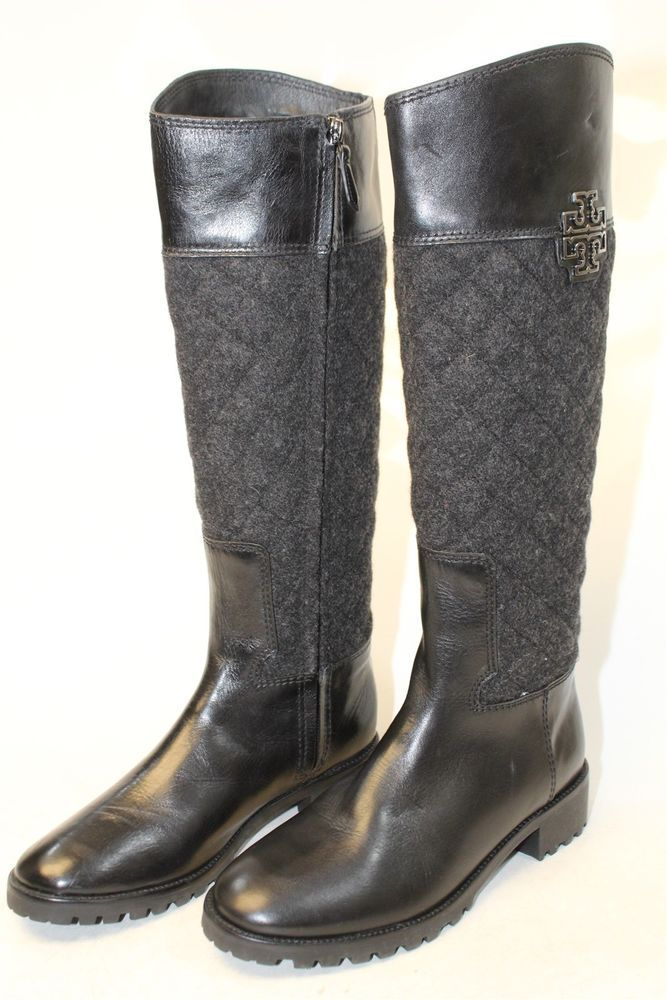 14c0a4500e9 Tory Burch MISMATCH Womens 8.5 8 M Melinda NEW Black Knee High Riding Boots  ej  fashion  clothing  shoes  accessories  womensshoes  boots  ad (ebay  link)