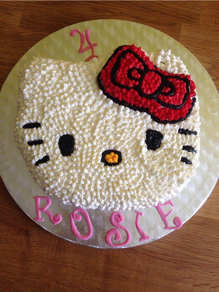Hello Kitty Kuchen  Backen  Kuchen und Torten  Hello