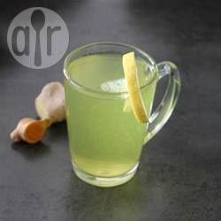 Chá funcional de açafrão, gengibre, mel e limão @ allrecipes.com.br