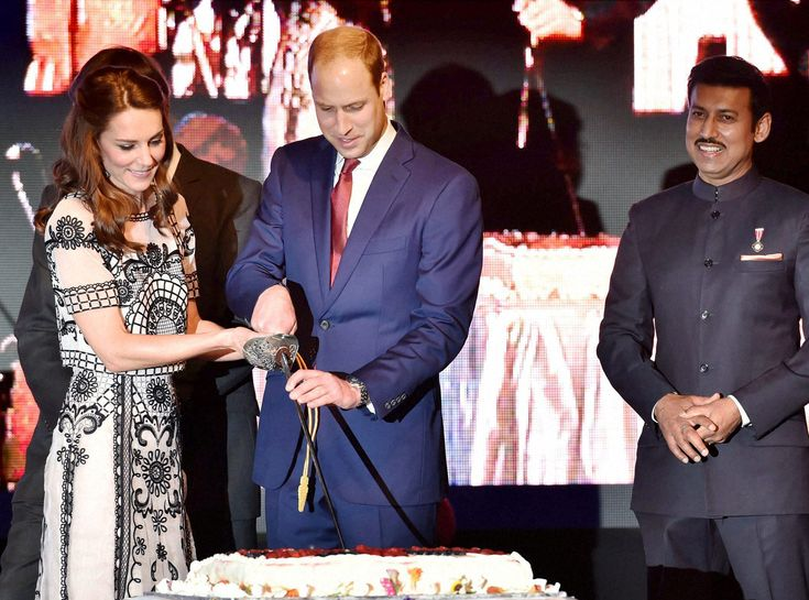 29 Must-See Photos from Kate Middleton and Prince William's Tour of Bhutan and India - At an early celebration for Queen Elizabeth II's 90th birthday from InStyle.com