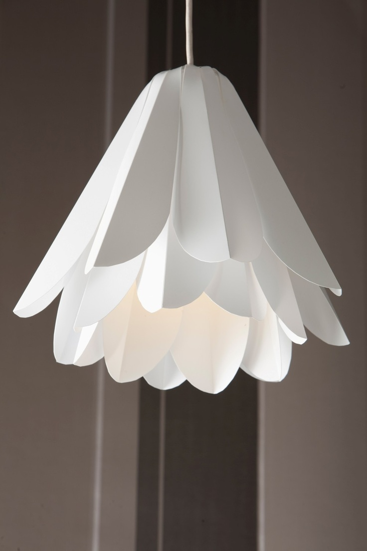 Lily hanging flower lampshade