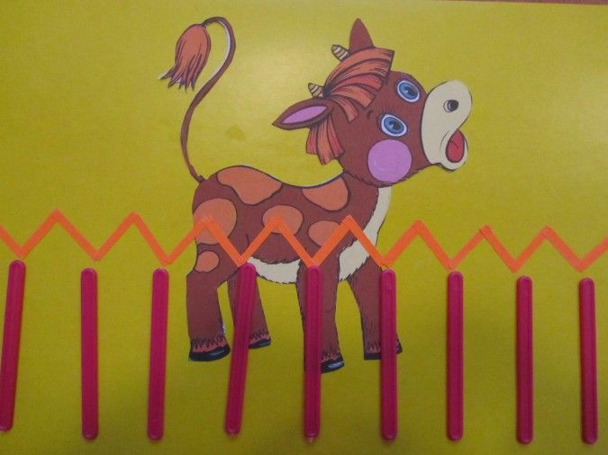 Дидактическая игра «Волшебные палочки». Воспитателям детских садов, школьным учителям и педагогам - Маам.ру