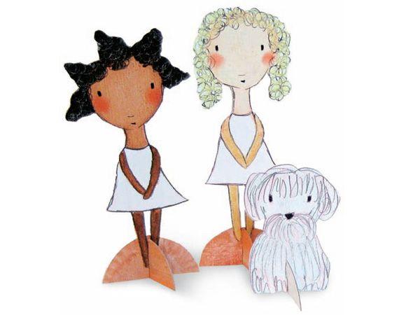 paper dollsEtsy Blog, Boxes Paper, Dolls Tutorials, Carla Sonheim, Cereal Boxes, Crafts Kids, Vintage Paper Dolls, Paperdolls, 12363 Paper Dolls 570