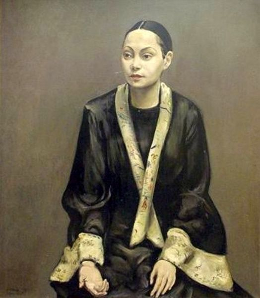::Gert Wollheim, German, 1894-1974 Portrait of Tatjana Barbakoff. Wollheim was associated with the Neue Sachlichkeit or New Objectivity movement in Weimar Germany