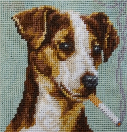 jack russell  from the smoking dogs collection
